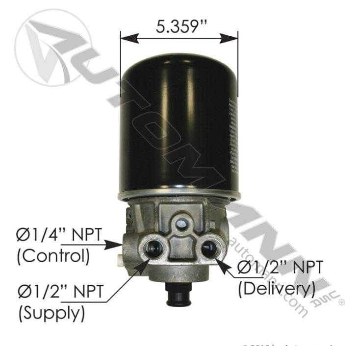 BENDIX TYPE ADSP AIR DRYER,170 065691,FREE Shipping