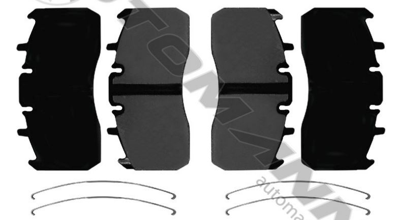 AIR DISC BRAKE PADS SEVERE DUTY 141 D1370SD,MMD1370AF,FREE Shipping