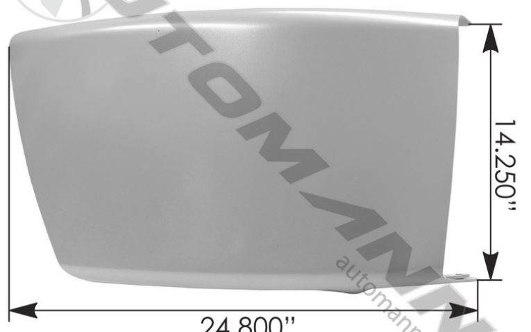 BUMPER END RH M2-112 FREIGHTLINER 564 46223,FREE Shipping