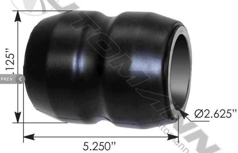 46208 Morse 5916 .125 X .187 LOC 3FL SC BRT 12X Made